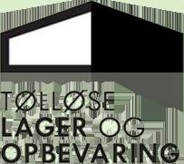 Tølløse lager og opbevareing logo